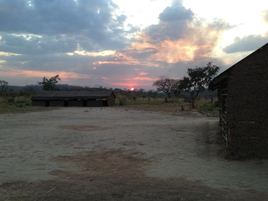 Sunset in Kagwada South Sudan